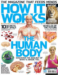 How It Works The Human Body - Blue Cover